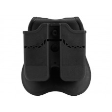 Big Foot 17 Series Double Magazine Pouch (Black)
