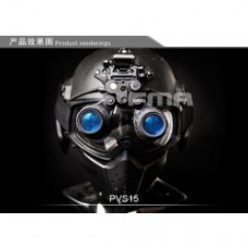 FMA DUMMY PVS-15 NIGHT VISION - UPDATED VERSION INC HARD CASE