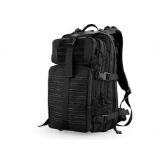 Big Foot 3P Laser Cut Backpack (Black)
