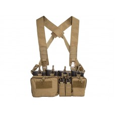 Big Foot D3CRH Chest Rig Vest - Tan