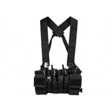 Big Foot D3CRX Chest Rig Vest 4 Mag Version (Black)