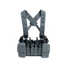 Big Foot D3CRX Chest Rig Vest 4 Mag Version (Grey)