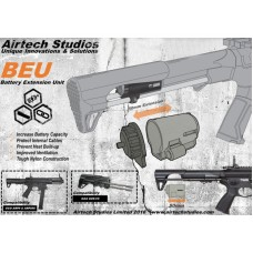 Airtech Studios BEUTM Battery Extension Unit for G&G ARP9 & ARP556 Series - Black