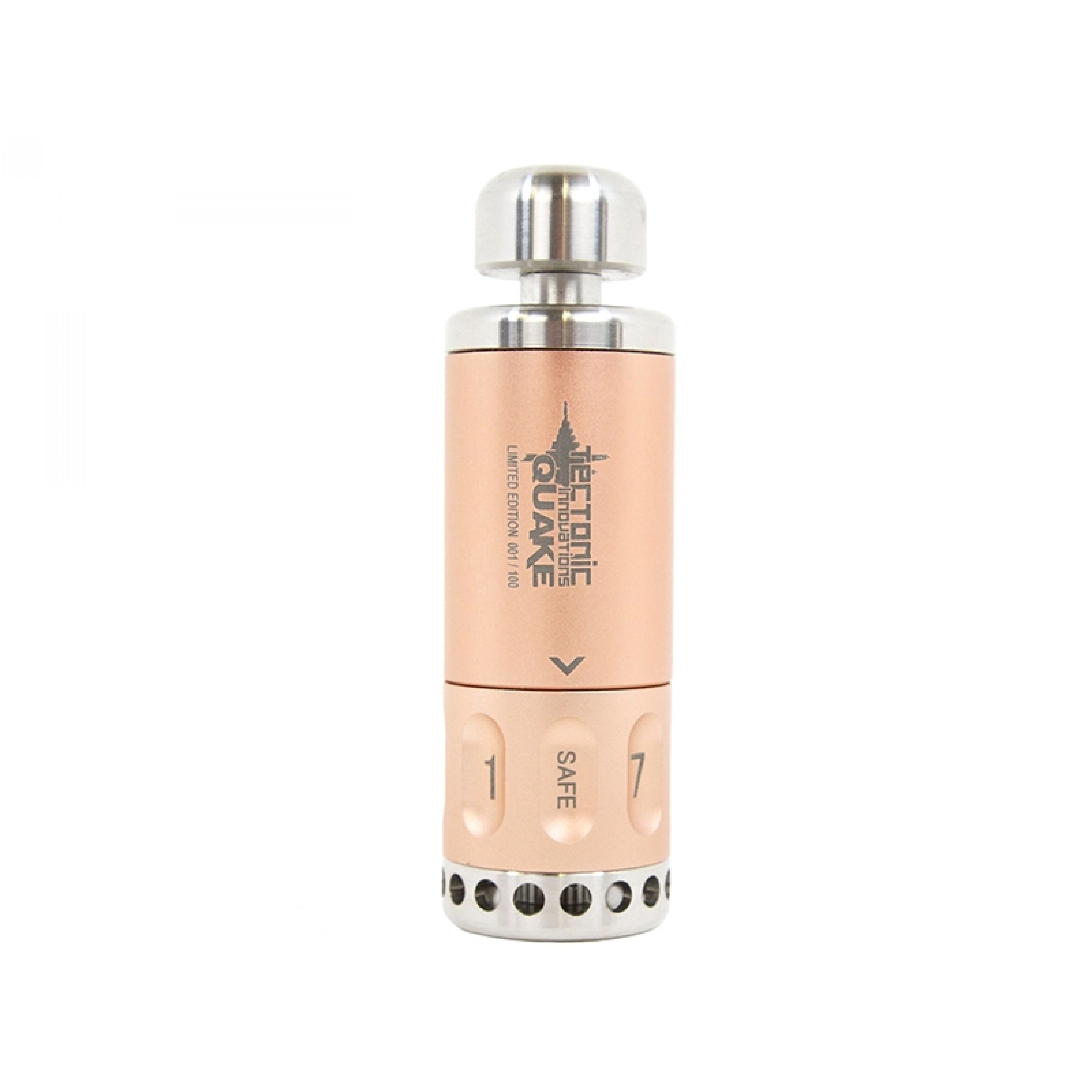 Tectonic Innovations Quake 8 Way Grenade - Limited Edition - Rose Gold
