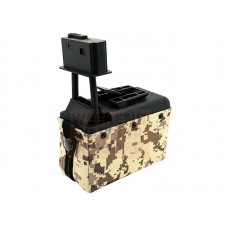 Classic Army M249 and LMG ACU Camo Box Mag
