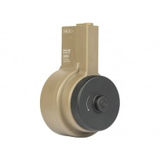 Ares AR Style M4/M16 Drum Winding Magazine (2150 Rounds - Tan - MAG-044)