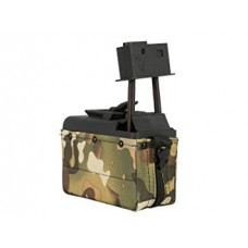 Classic Army M249 and LMG Woodland Camo Box Mag