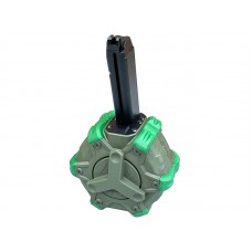 WE Gas Drum Magazine for 17 Series (350 Rounds - OD)