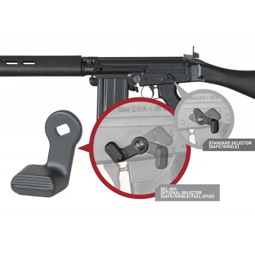 Weekend Warrior Airsoft Ares L1a1 Full Auto Selector switch