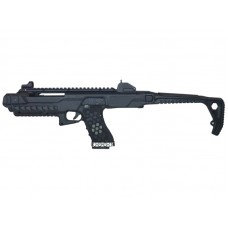 Armorer Works Gas Blowback VX Pistol with Tactical Carbine Conversion Kit (Black - AW-K03000)