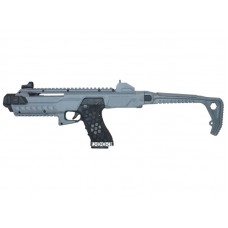 Armorer Works Gas Blowback VX Pistol with Tactical Carbine Conversion Kit (Urban Grey - AW-K03000)