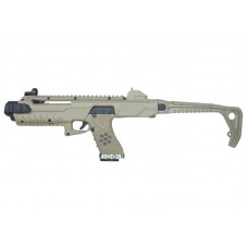 Armorer Works Gas Blowback VX Pistol with Tactical Carbine Conversion Kit (Tan - AW-K03000)