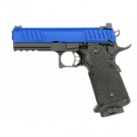 Army Custom 4.3 Hi-Capa Gas Blowback Pistol (R603 - Blue)