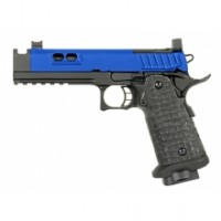 Army Custom 5.1 Hi-Capa Gas Blowback Pistol (R604 - Blue)