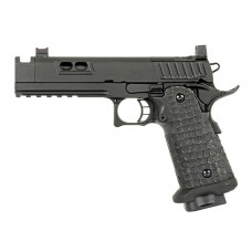 Army Custom 5.1 Hi-Capa Gas Blowback Pstol (R604 - Black)