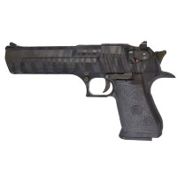 Magnum Research Inc. Desert Eagle Custom Tiger Stripe Black 50AE GBBP (90510 - Licensed by Cybergun - Made by WE - Black)