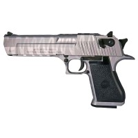 Magnum Research Inc. Desert Eagle Custom Tiger Stripe Silver 50AE GBBP (90510 - Licensed by Cybergun - Made by WE - Silver)