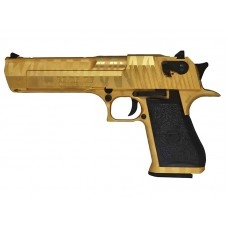 Magnum Research Inc. Desert Eagle Custom Tiger Stripe Gold 50AE GBBP (90510 - Licensed by Cybergun - Made by WE - Gold)