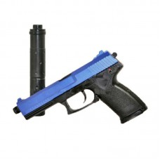 HFC MK23 Gas Pistol with Silencer