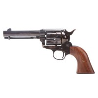 King Arms SAA .45 Peacemaker Revolver S - Electroplated Black