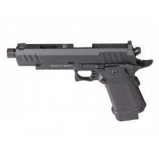 Secutor - LUDUS VI - Hi-Capa 5.1 Custom Pistol (Black Barrel - Co2 Powered - Gas Ready - Black)