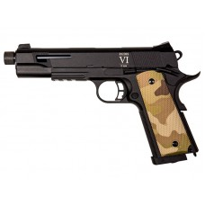 Secutor  Rudis VI  Multicam1911 Custom Pistol (Co2 Powered - Gas Ready - Multicam)