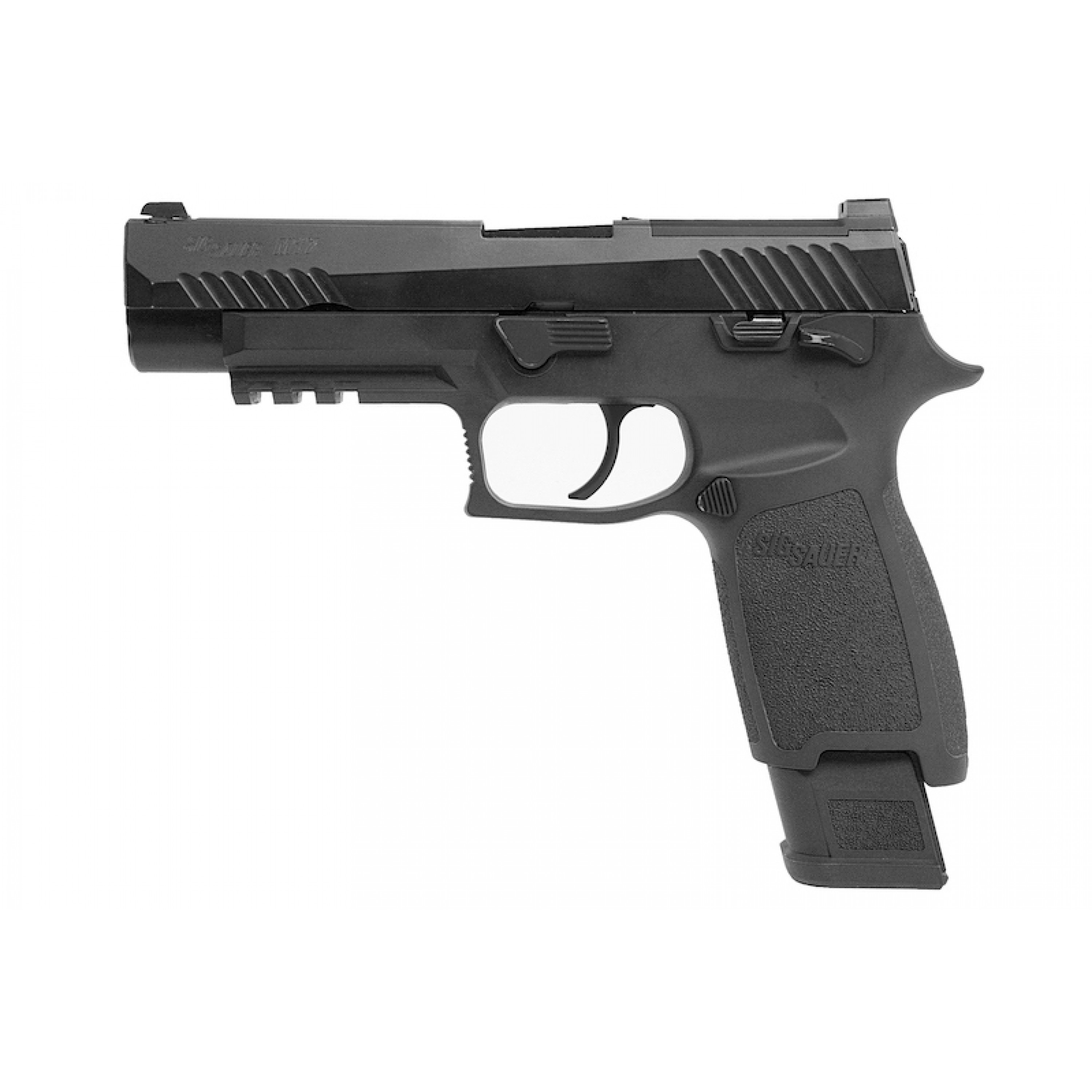 SIG AIR P320 M17 6mm CO2 Version GBB Pistol - Black (Licensed by SIG Sauer) (by VFC)
