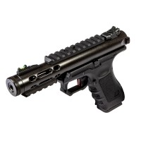 WE Galaxy G Series Gas Blowback Pistol - (Black)