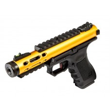 WE Galaxy G Series Gas Blowback Pistol - (Yellow)
