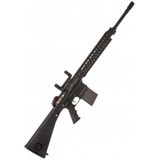 ARES SR25 DMR (Semi only)- Black - 400fps -SR-004E  With scope rings