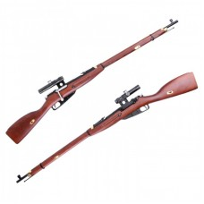 PPS Mosin Nagant Model 1891/30 Sniper gas Bolt Version (with PU Scope - Beech Wood Stock)