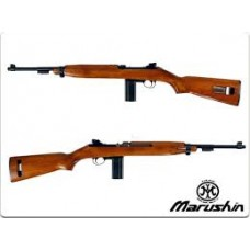 Marushin M1 Carbine 6mm (CO2 Plastic Stock Wooden Grain Version) - Export Version