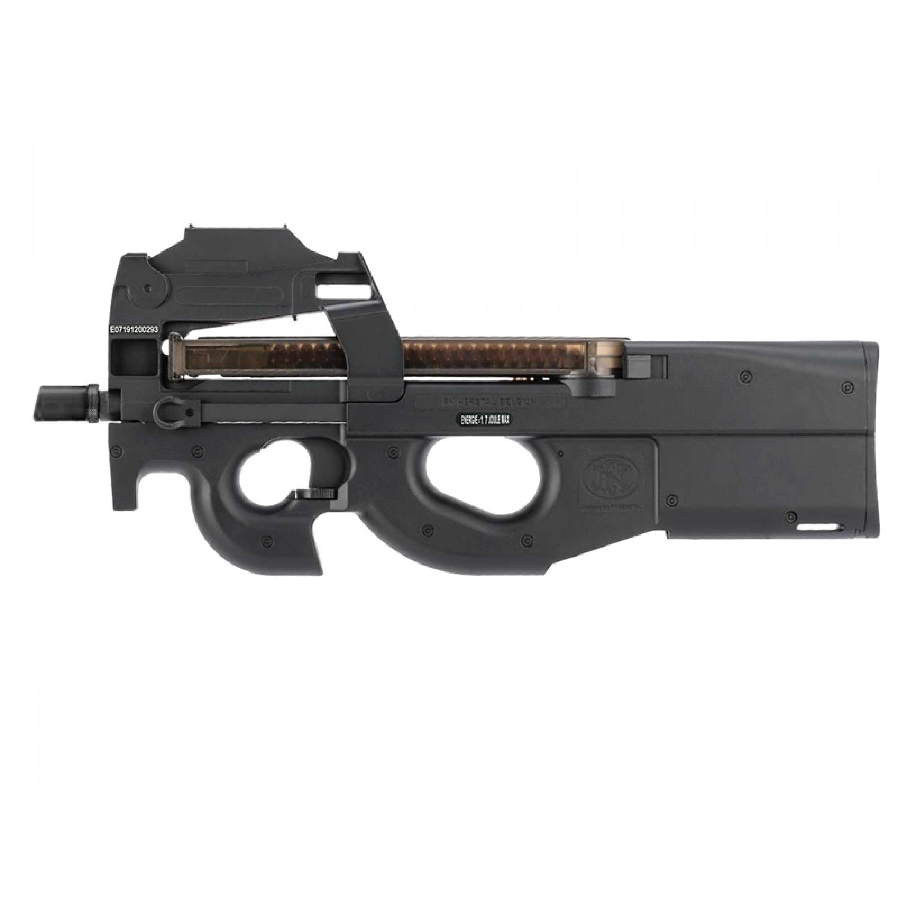FN Herstal P90 AEG with Red Dot Sight (Black - Cybergun - 200994)