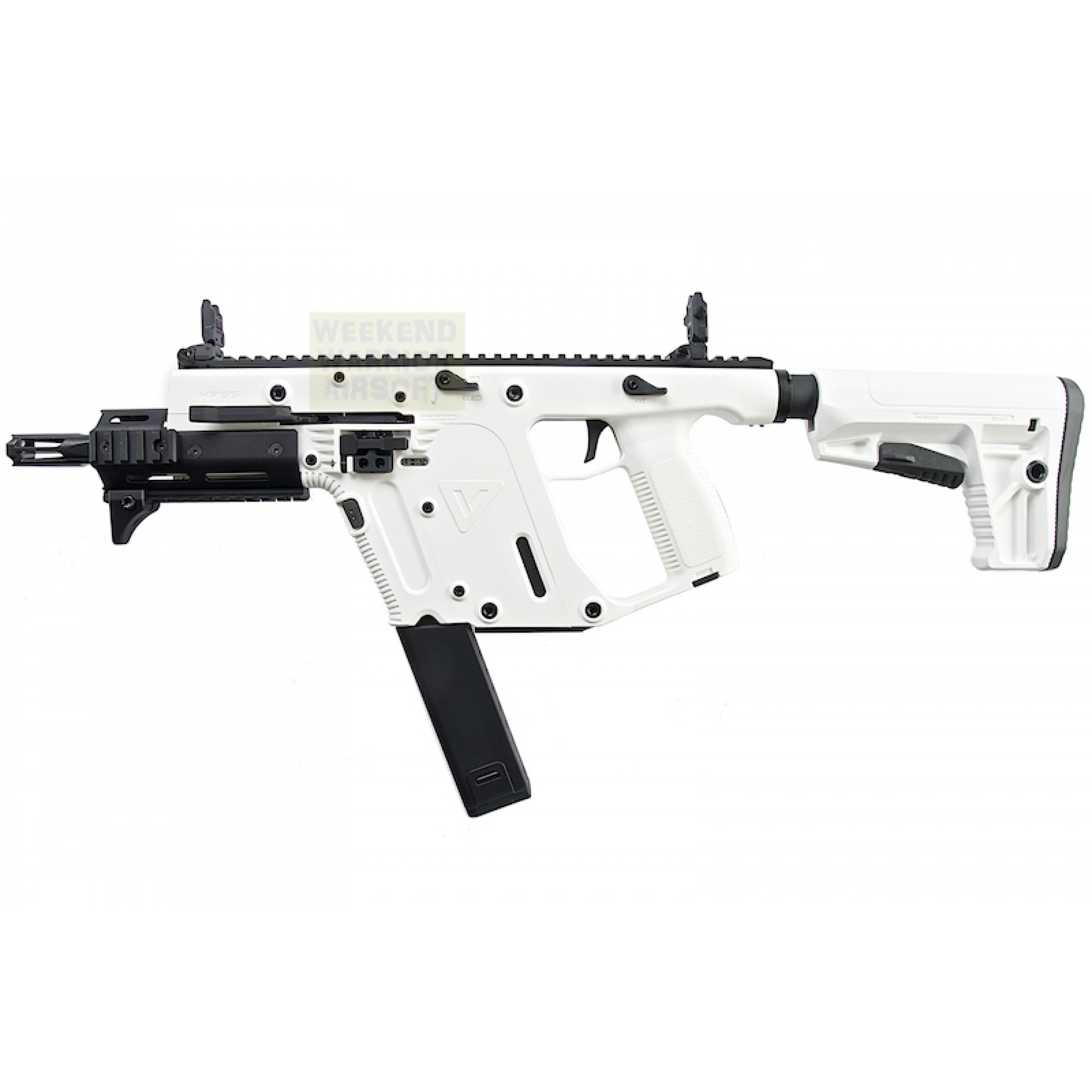 KRYTAC KRISS Vector Limited Edition 'Alpine White' AEG SMG