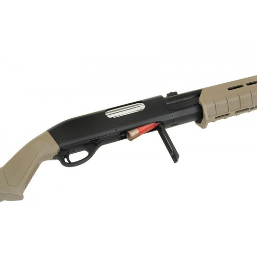 weekend warrior airsoft CYMA Tactical M870 Shotgun metal